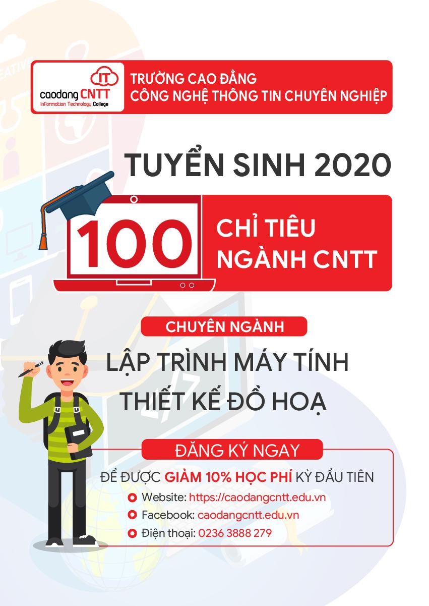 Tuyen sinh cao đẳng CNTT 2020
